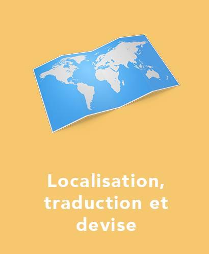 localisation, traduction et devise